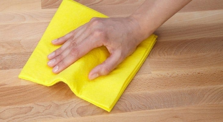 clean the surface