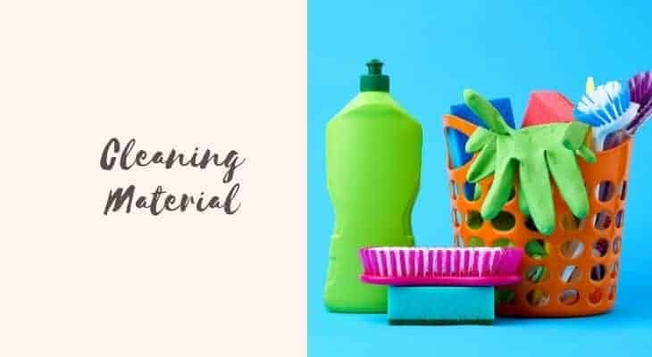 bathtub cleaning materials