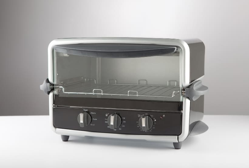 toaster oven exterior clean