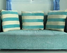 how to remove odor from furniture fabric